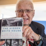 "Earvin L. Ruddick, 92, who worked on the White House renovation in 1951—and reached out after receiving ""The Hidden White House"" for Christmas."